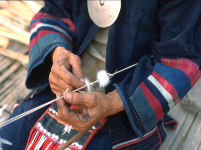 Making Feather Tassels