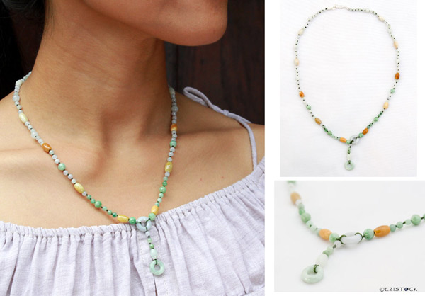 Jade necklace, 'Green Oracle' © Ezistock Co., Ltd.