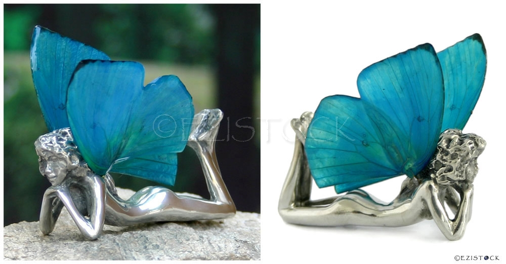 Fairy figurine, 'Daydreaming' (I) - Click Image to Close