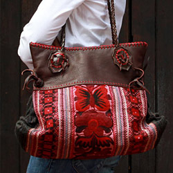 Handcrafted shoulder bags