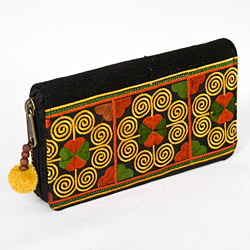 Handmade purses and wallets