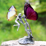 Fairy figurine, 'Sweethearts' (I)