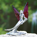 Fairy figurine, 'Flying Mermaid' (I)