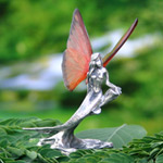 Fairy figurine, 'Flying Mermaid' (II)