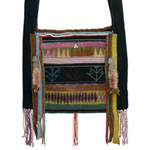 Akha cotton shoulder bag, 'Lomi Festival'