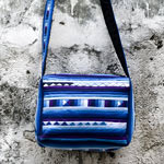 CottoProduct name : Cotton shoulder bag, 'Lisu Sky'