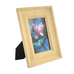 Rubber wood photo frame, 'Classic Elegance'