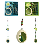 Incense and holder hanging set, 'Sweet Frangipani'