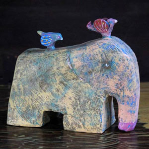 Resin Statuette, 'Afternoon Ride'