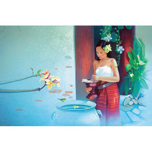 Giclée print, 'Quiet Moment'
