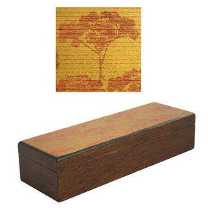 Pencil box, 'Golden Mist'