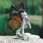 Fairy figurine, 'Blow a Kiss' (I)