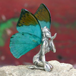 Fairy figurine, 'Blow a Kiss' (II)