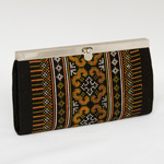 Cotton purse, 'Hmong Charm'